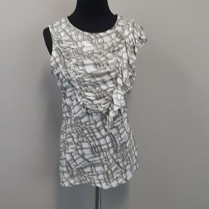 The Limited ruffled blouse size Large